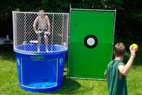 Dunk Tank Blue Apple Productions
